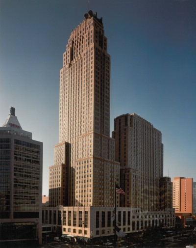 The Carew Tower in Cincinnati