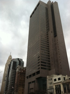 The Rhodes Tower in Columbus, Ohio