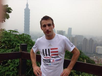 Lechner prepares for the challenge of Taipei 101