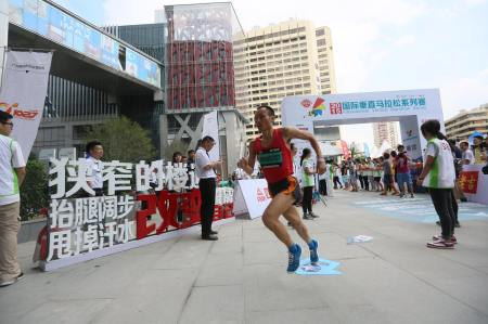 Ou Jiajing begins his run to victory in Guangzhou