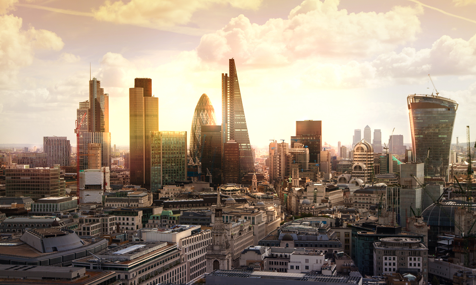 stock-london-skyline-view-of-City