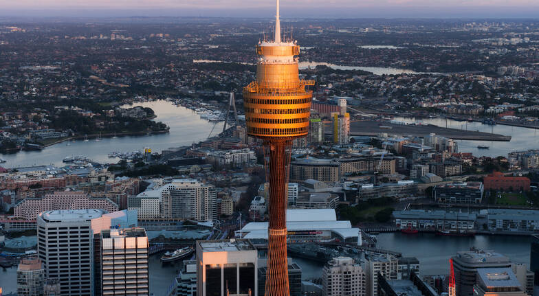 Sydney Tower Run-up winners