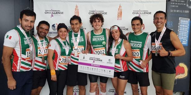 Towerrunning Mexico athletes