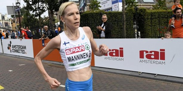 Laura Manninen tower running