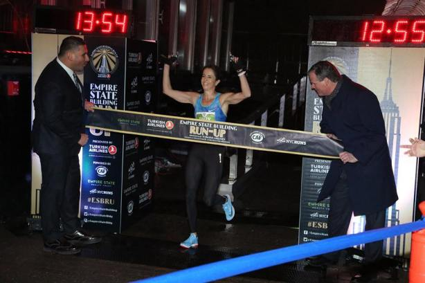 Suzy Walsham Empire State Building Run Up