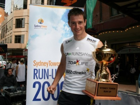 Thomas Dold Sydney Tower Run Up winner 2009