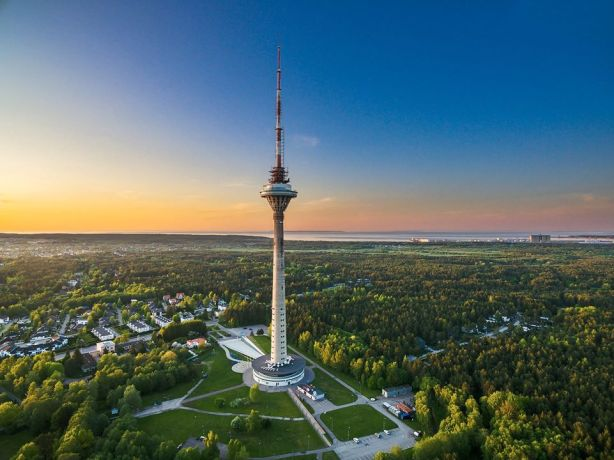 Tallinn TV Tower stair climb 2020